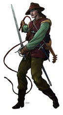 Nevin (Half-Elf Bard)