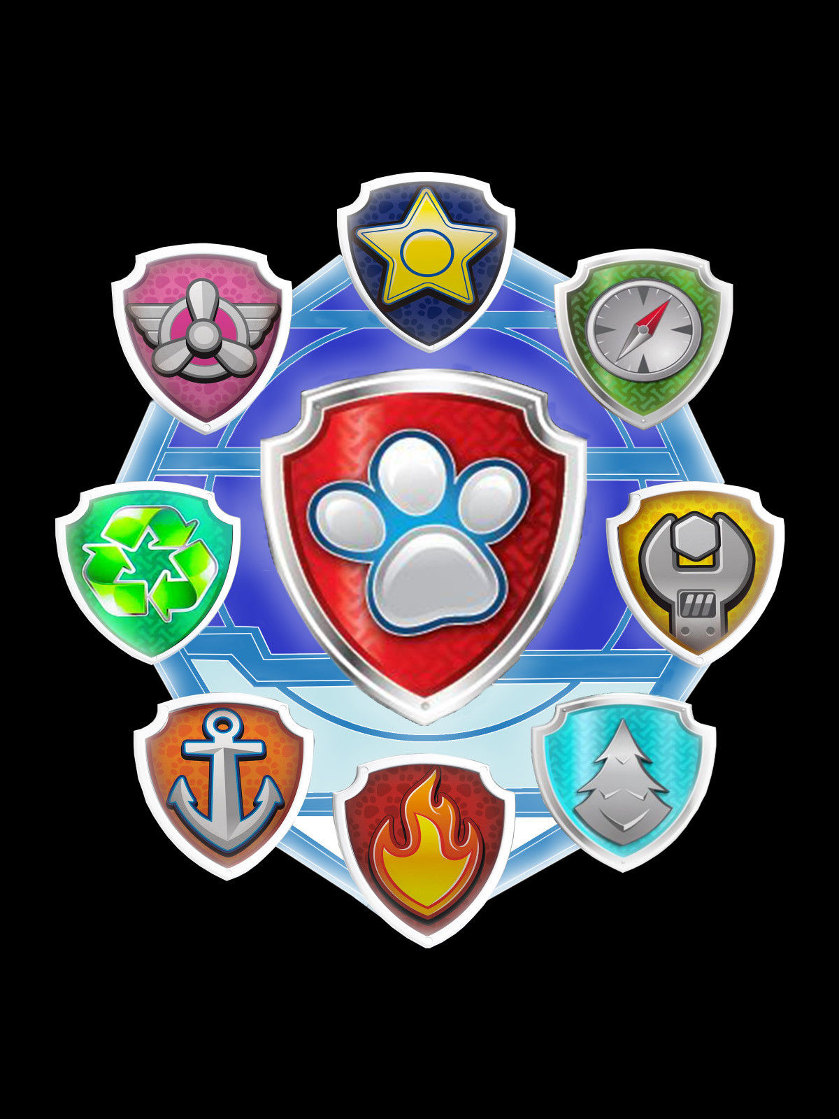 Badges Adventures Of The Paw Patrol 2 Wiki Fandom