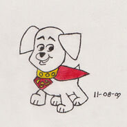 Krypto the Super Pup by cdot284