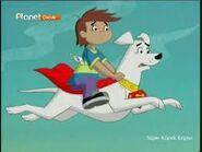 Kevin rides on Krypto