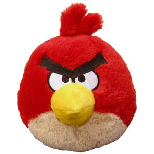 Angry bird 5in red