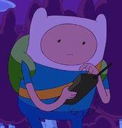 Finn calling jake