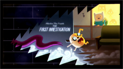 The First Investigation title card
