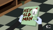 S5e14 HEY OLD MAN card