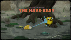 The Hard Easy Title Card