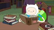 S2e15 Finn reading