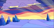 Montagne di ghiaccio al tramonto 2