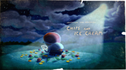 Titlecard S6E34 chipsandicecream