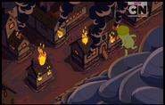 23 - Burned town