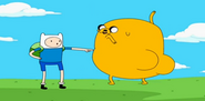 Finn Jake distracting the wand