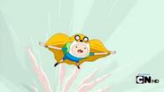 S4 E21 Finn flying with Jake