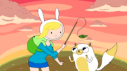 S3e9 Fionna playing with Cake