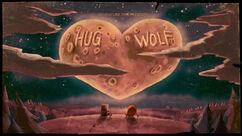 Волк-обнимашка