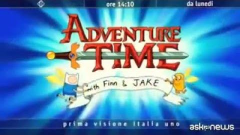 Sigla di Adventure time in italiano cantata da Jovanotti.