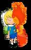 Finn x flame princess by cris uchiha-d54h968