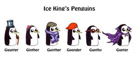 Ice King's Penguins