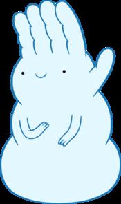 Hand Snow Golem