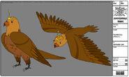 Modelsheet themorrow falcon