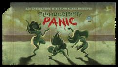 Titlecard S1E1 slumberpartypanic