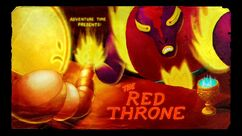 The Red Throne title card