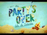 Die Party ist vorbei