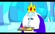 Re Ghiaccio con vassoio