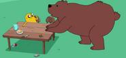 S4 E7 Jake talking to bear