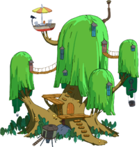 76-768823 adventure-time-tree-house-by-transparentstuff-adventure-time-with-finn-and-jake