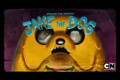 Jake The Dog Title Card