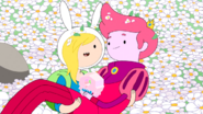 S3e9 Fionna holding Gumball