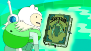 S7e23 Finn with Enchiridion