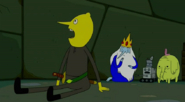 S5 e8 Lemongrab reading while turning his head