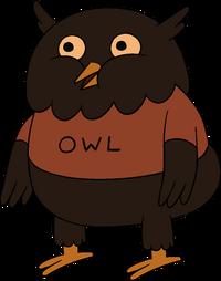 Owl (Up a Tree)