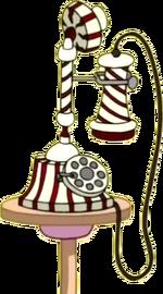 Princess Bubblegum's phone