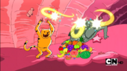 S1e12 Tiger throwing potions for food and fire