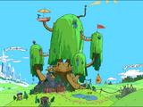 Деревянный форт