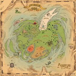 New Map of Ooo