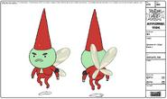 Modelsheet gnome1badpose