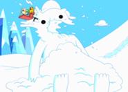 185px-S1e3 Snow Golem's head exploded