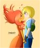 Finn x flame princess by denissedc-d6dyeb4