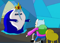 S2e24 finn and jake trapped in ice