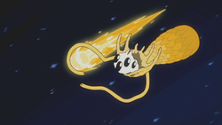 Comète catalyste jaune2