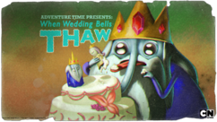 Titlecard S1E18 When Wedding Bells Thaw