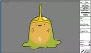 Modelsheet slimeprincess - withegginbody