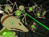 Липучие скелеты