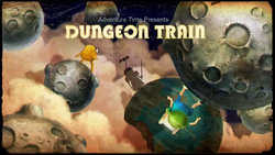 Dungeon Train Title Card