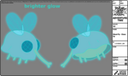 Modelsheet ghostfly closeup
