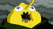 S5e51 fat Lemongrab screaming in pain