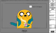 Modelsheet Jake with Scarf - Special Pose