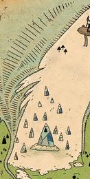 Ледяное королевство на карте земель Ууу